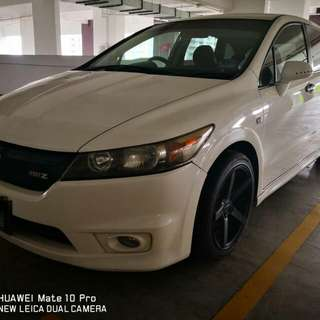 Honda Stream Rsz Beautiful car