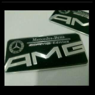 AMG Plate Emblem for Mercedes