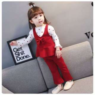 SET PEPLUM PANTS 3in1