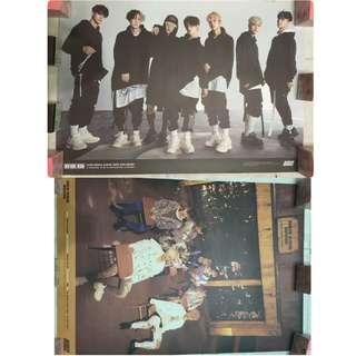 官方限量 iKON 雙面海報 YG