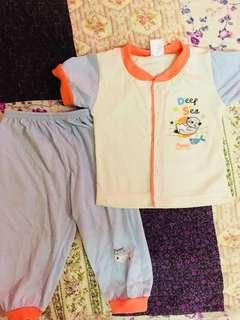 Baby boy girl Pyjamas baju tidur #bajet20