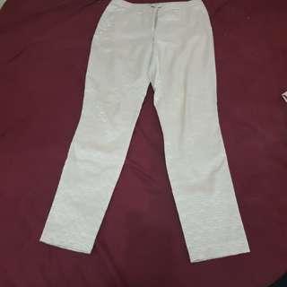 Celana panjang cream