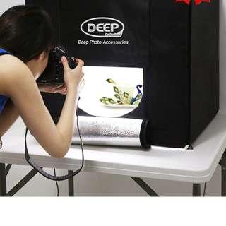 DEEP PHOTO LIGHTING STUDIO SHOOTING TENT BOX 80x80x80CM