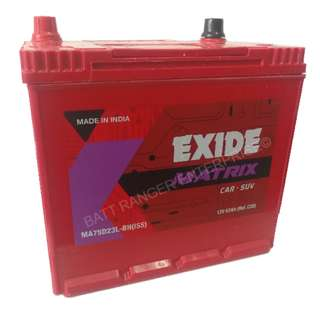 EXIDE MATRIX ISS(IDLING START STOP) BATTERY