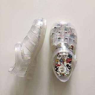 ZARA Disney jelly shoes