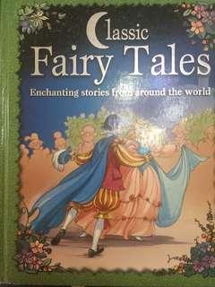 英文故事書 Fairy Tales 191pages