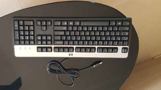 Acer speaker. Keyboard. Wire. Hp Mouse