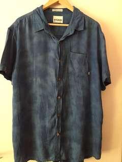 Stussy Blue Shirt