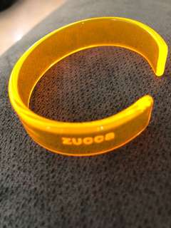 Zucca plastic bracelet