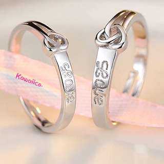 Simple couple ring