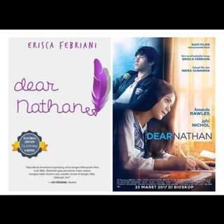 "NOVEL terlaris ""DEAR NATHAN. EBOOK/PDF (525 halaman)"