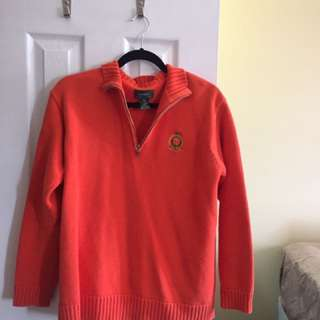 Ralph Lauren quarter zip sweater