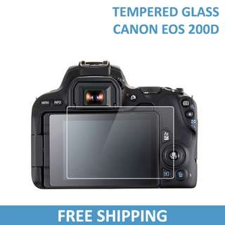 Canon 200D Tempered Glass Screen Protector