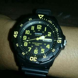 Jam tngan casio