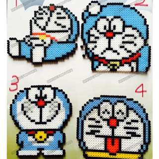 Doraemon Hama Bead Designs