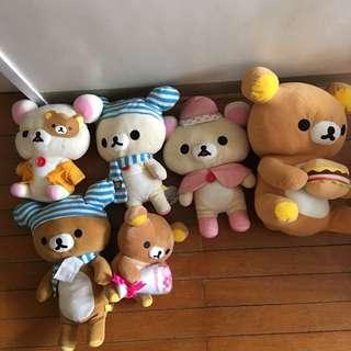 Rilakumma Stuffed Toys