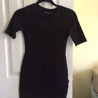 Topshop PETITE black dress
