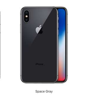 NEW* iPhone X 256GB Space Grey