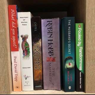 Books for sale (selling to clear)