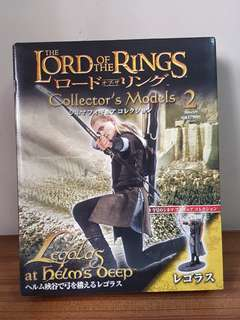 The Lord of the Rings Collector's Models - Legolas at Helm's Deep