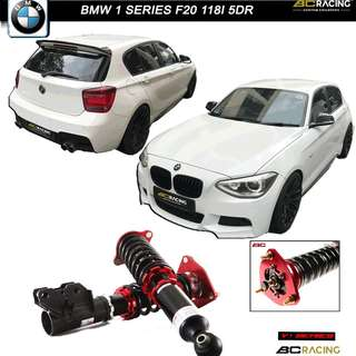 B.M.W 1 SERIES F20 118I - BC RACING V1 SERIES COILOVER )