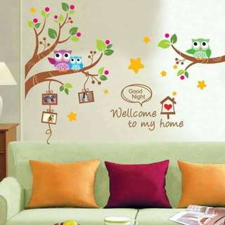 Welcome to my Home Wall Decal Sticker