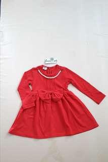 Girl long sleeve dress