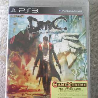 PS3 Devil May Cry CAPCOM