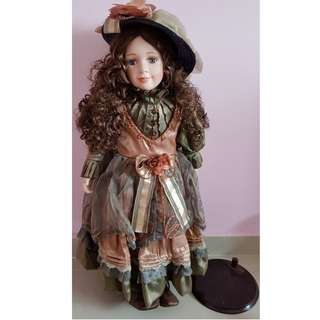 Vintage beautiful doll