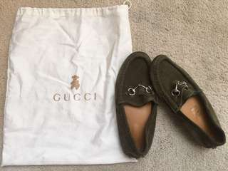 Gucci boys Suede shoes