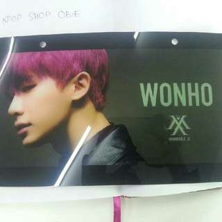 WTS HELP RT  MONSTA X CAFE GOODS    NAME PLATE (WONHO)