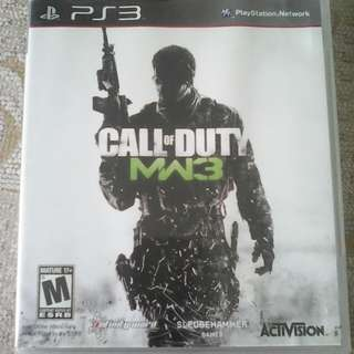 PS3 Modern Warfare 3 MW3 COD