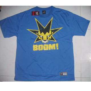 WWE Kofi Kingston King of the Boom T-Shirt WWF WEW ECW TNA