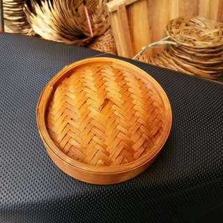 Tutup klakat bambu 13 cm