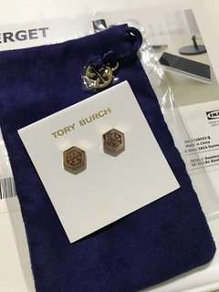 Authentic Tory Burch stud earring