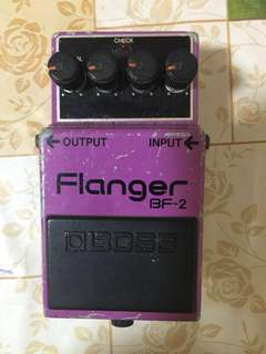 Boss Flanger BF-2 ( Made In 🇯🇵 Japan)