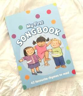 Charity Sale! My First Song Book 42 Favourtie Rhymes to Read