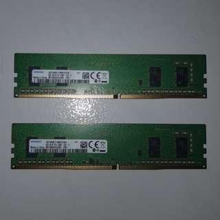 Samsung DDR4 2400 2x4GB(total 8GB)