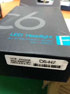 C6 Led black box