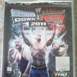 PS3 WWE Smackdown VS Raw 2011