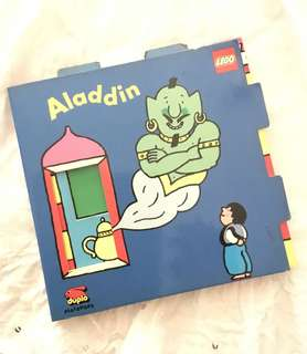 Charity Sale! Aladdin Lego Book Children's Book