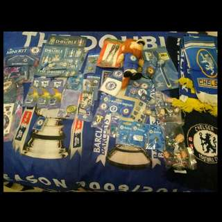 Chelsea FC Memorabilia All For $100