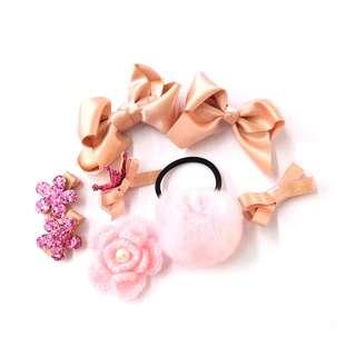 Blossom 28 Baby Hair Clip Set Pink BHB007