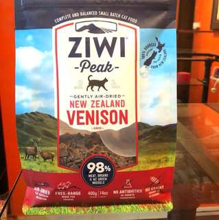 Ziwipeak Air Dried Venison 400g