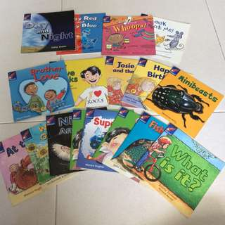 17 Rigby Rocket Preschool Readers