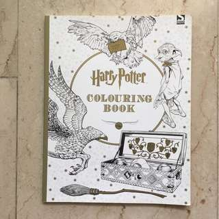 Brand New - Harry Potter Coloring Book