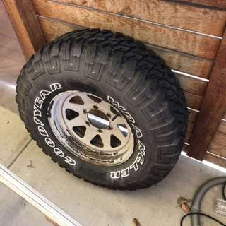 31 inch tyre 31*12.5 r15 mtr spare wheel
