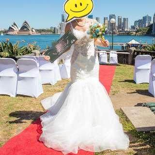 Wedding gown / dress