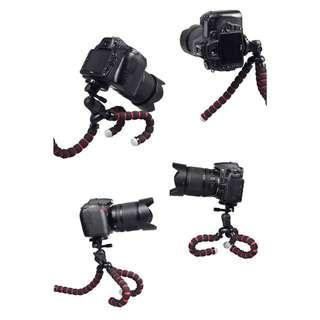 🚚 隨凹隨拍 八爪魚三腳架 百變支架 自拍支架 自拍腳架 相機腳架 相機支架『📦預購&現貨』大號