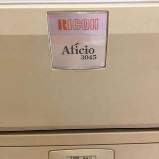 Ricoh Aficio 3045 多功能影印機